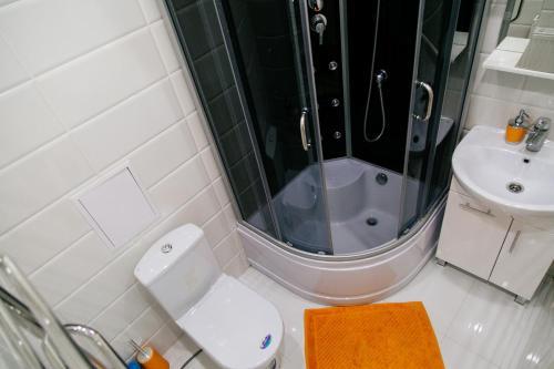 A bathroom at Apartments Meridian