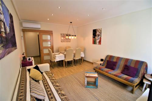 Setusvæði á Arenal Apartment