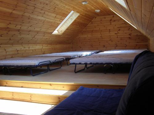 Cama o camas de una habitación en Vilks un Briedis