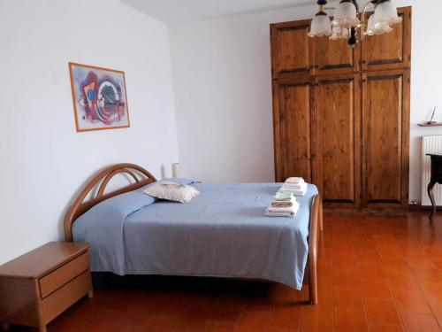 A bed or beds in a room at Bruna & Bepi House - Room 1