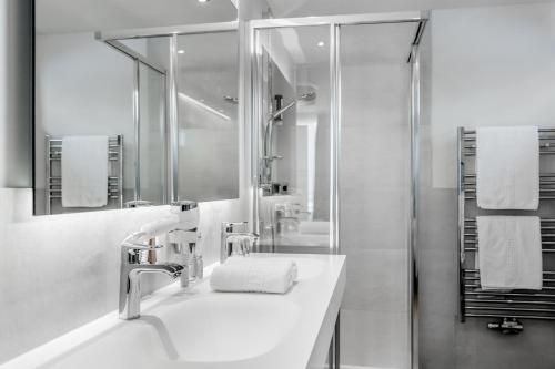 Kupatilo u objektu Regina's Alpenpanorama