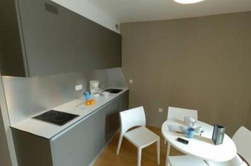 A kitchen or kitchenette at Temporesidence Cathedrale