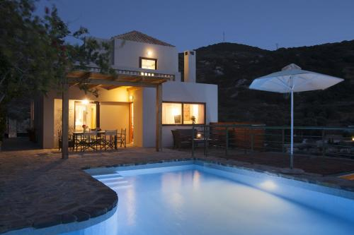The swimming pool at or near Istron Luxury Villas