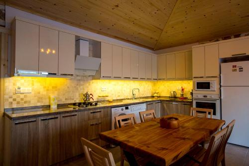 A kitchen or kitchenette at Villa Otantik