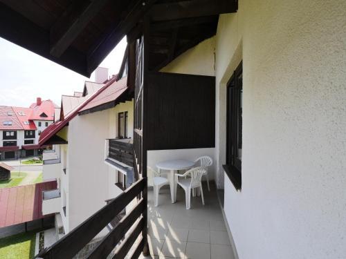 Balkón nebo terasa v ubytování Apartmán Chlupáč