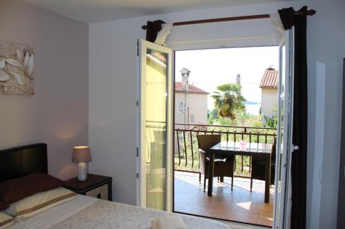 A balcony or terrace at Apartments & Room Anita