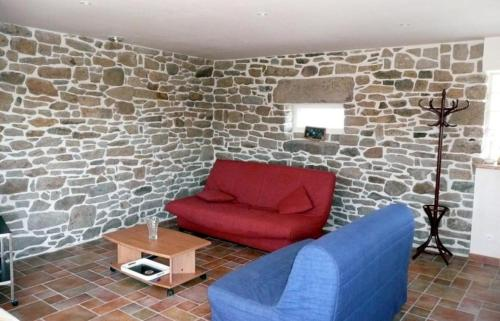 A seating area at Holiday rental in Brittany - Finistere