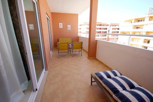 Balkon oz. terasa v nastanitvi T2 Quintao