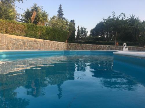 Het zwembad bij of vlak bij Apollonia apart-hotel
