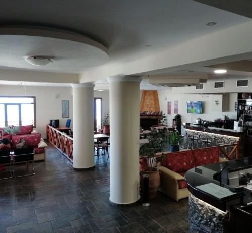 The lobby or reception area at Creta Suites