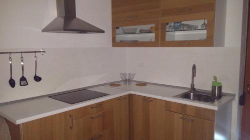 Kuhinja oz. manjša kuhinja v nastanitvi Apartment Brina