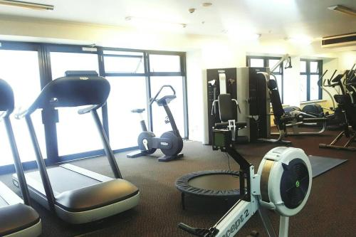 The fitness center and/or fitness facilities at Oasis on Queen St, quiet and refreshing Apartment