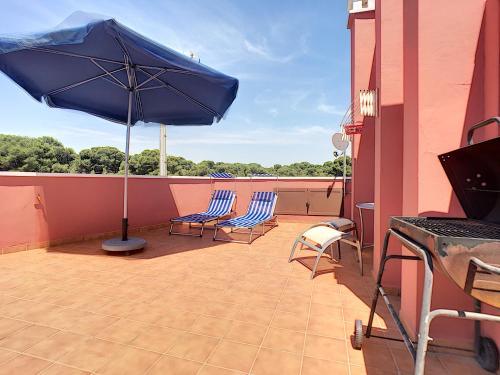Balcon ou terrasse dans l'établissement Roda Apartment Penthouse - GTB