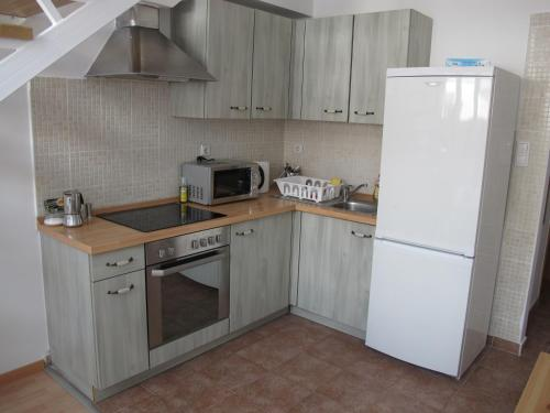 A kitchen or kitchenette at New Penthouse At Synagogue
