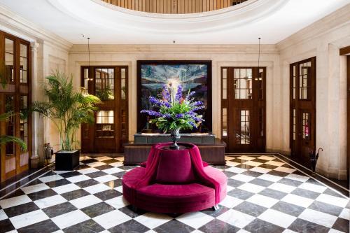 The lobby or reception area at The Edinburgh Grand