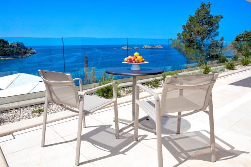 Balcon ou terrasse dans l'établissement Villa Malo More