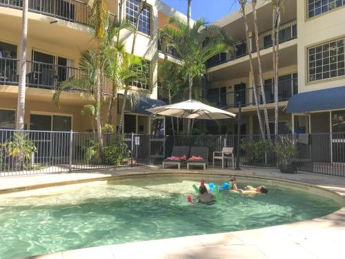The swimming pool at or near Beachside Holiday Apartments
