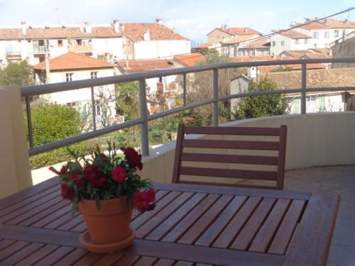 Balcon ou terrasse dans l'établissement 23 Rostan