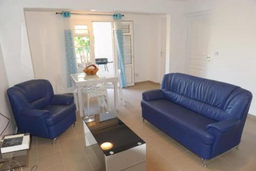 A seating area at Villa Yona