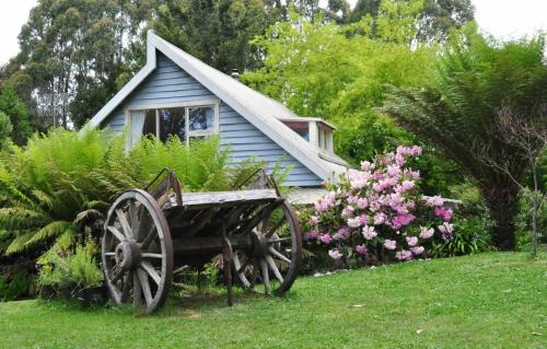 Hide-Away Cottage Retreatにある庭
