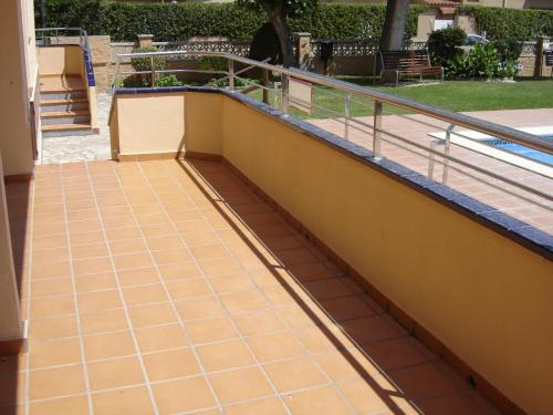 A balcony or terrace at Apartaments Fincasol