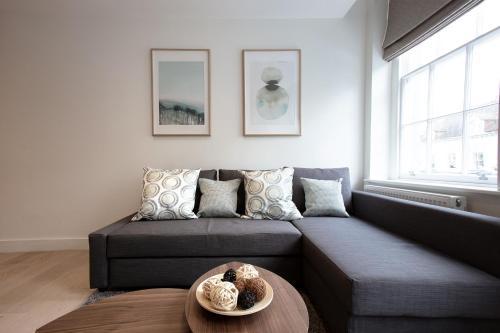 Istumisnurk majutusasutuses Hampden Apartments - The George