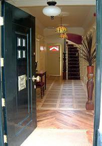 The lobby or reception area at Ardwyn House