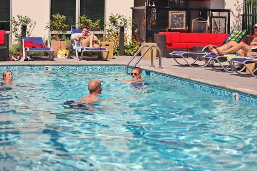The swimming pool at or near West Hollywood Deluxe Suites | 2BR&2BT | Pool | Free Parking