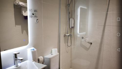 Un baño de Casa Gloria Apartments