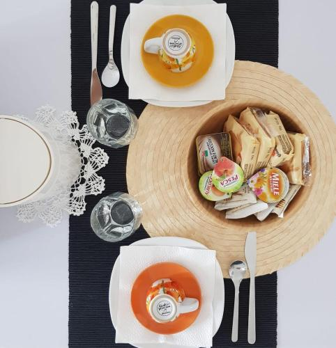Colazione disponibile per gli ospiti di Zanardi 388