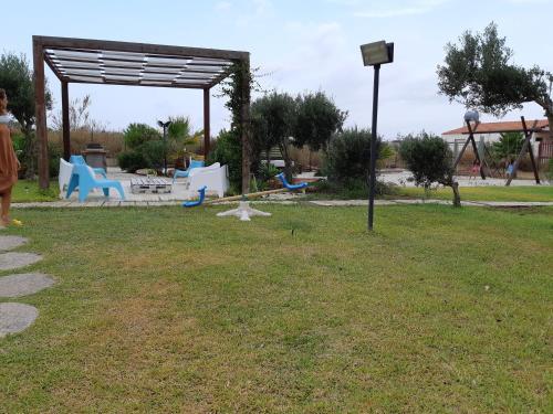 Children's play area at Villa Carlotta Residence