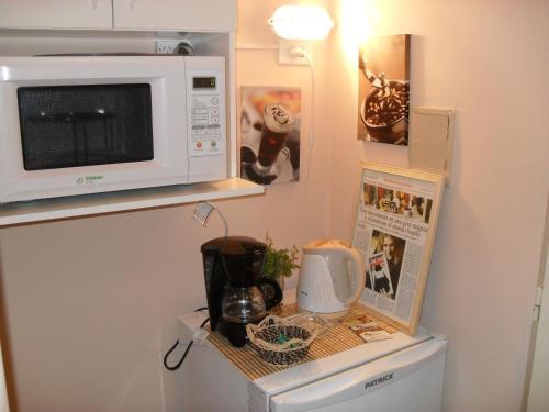 A kitchen or kitchenette at Los Lapachos