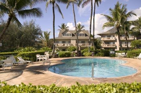 The swimming pool at or near Castle Kaha Lani Resort
