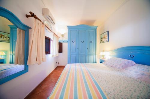 Uma cama ou camas num quarto em AG Casa Colombo
