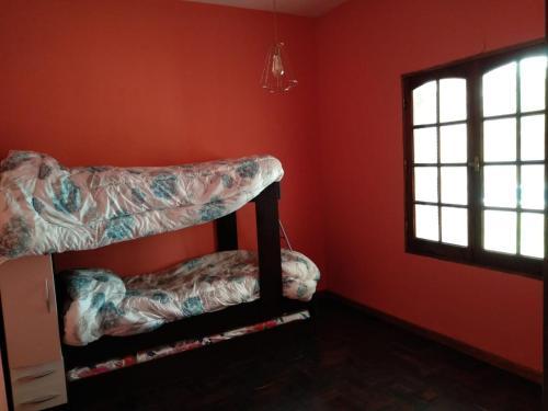 A bunk bed or bunk beds in a room at Espacio amplio Relax