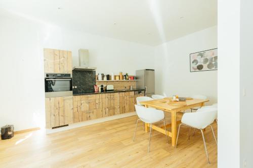 The newPAST Apartments廚房或簡易廚房
