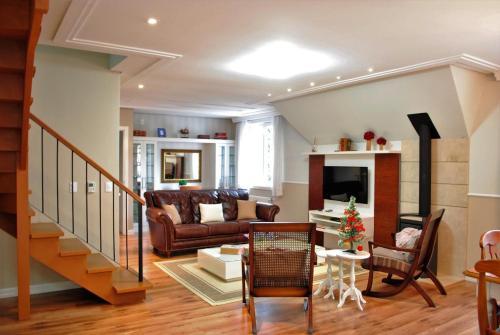 Apartamento Duplex Gramado 휴식 공간