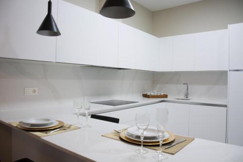 O bucătărie sau chicinetă la Apartamentos Alaia