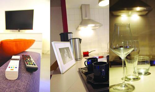 TV o dispositivi per l'intrattenimento presso Le Petit St Lazare