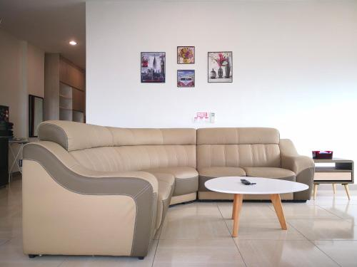 Ein Sitzbereich in der Unterkunft Octagon 21 Guest House