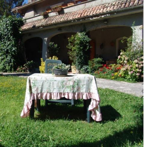 Zahrada ubytování Monte Gambero