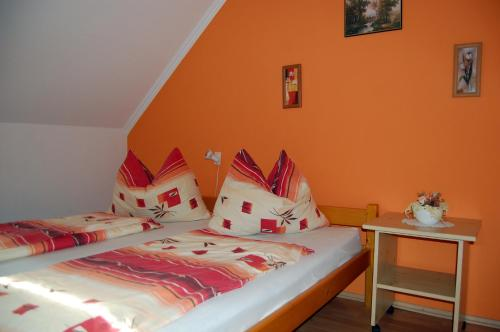 A bed or beds in a room at Apartmancentrum