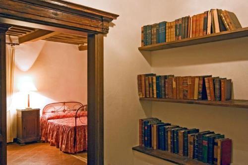 Biblioteca nella villa