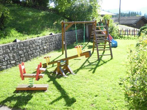 Children's play area at Ferienhaus Höchhäusl