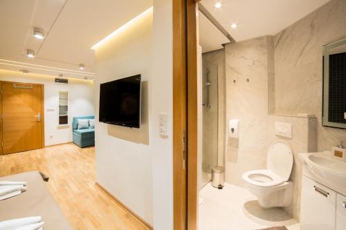 Kupatilo u objektu Belgrade Center Luxury Apartments