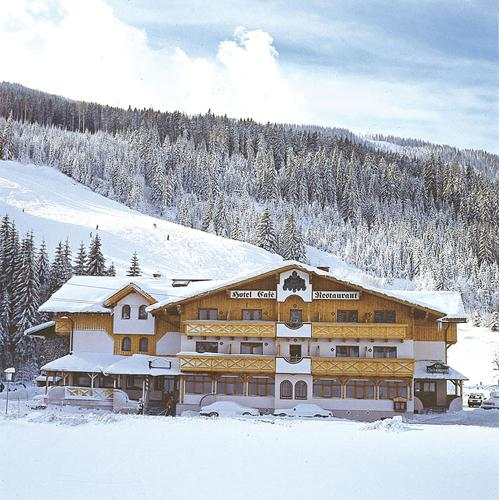 Hotel Alpenblick during the winter