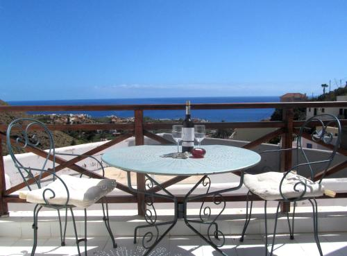 A balcony or terrace at Casa Policarpo