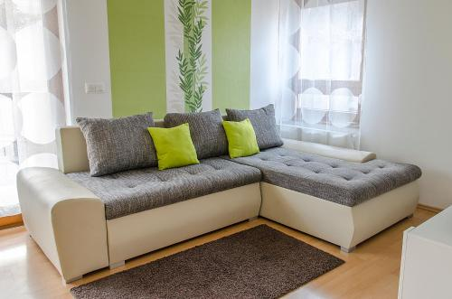 A seating area at Toscana Apartment