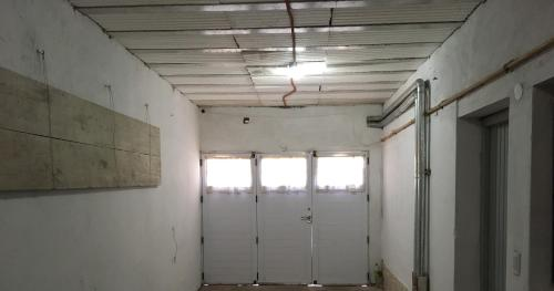 A bathroom at Pablos House