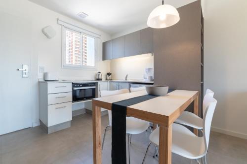 A kitchen or kitchenette at Babel Soho